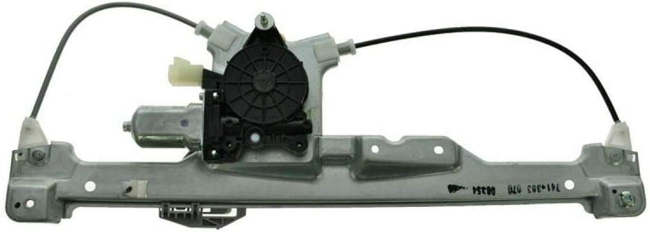 QYXY free shipping 1pc Rear Right Side Motor Window w Shipping included 741-383 Regulator
