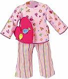 Käthe Kruse 33990 - Pyjama mit Herzkissen 39-41 cm, rosa