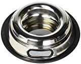 Indipets Stainless Steel Spill Proof Splash Free Dog Bowl - 16oz -...