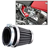 Mei-Mracing Filtrar la Motocicleta Mushroom Head Aire Clamp On Air Filter Cleaner 35/39 / 42/44/48/50/52/54 / 60mm (Color : 42MM)