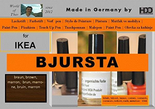 ausbesserung couleur pour IKEA BJURSTA Brown