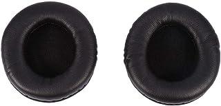 Almofadas de substituição macias almofadas de orelha almofada de couro pu fone de ouvido de espuma macia para para sony md...