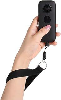 Penivo Correa de muñeca de Nylon Correa para el Cuello cordón Ajustable Lanyard para Insta360 One X Accesorios de cámara de acción