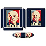Lenin Propaganda Poster Pop Art Compatible with PS4 Slim controller and console skin sticker protective cover wireless/wired gamepad controller