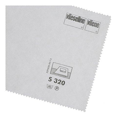 Vlieseline S320 weiß, pro Meter