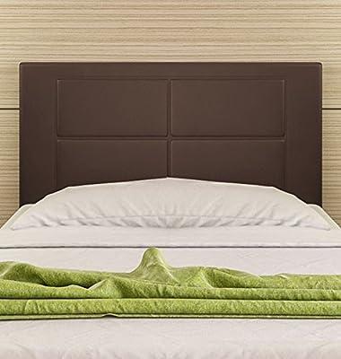 Tapizado en piel ecológica Válido para camas de 80 , 90 y 105 cm Color: NEGRO, BLANCO, CHOCOLATE Preparado para colgar en la pared Medidas: ancho: 105 cm; alto: 55 cm; grosor: 3 cm