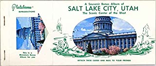 Salt Lake City - Utah (1959 Souvenir Plastichrome Detachable Postcard Album)