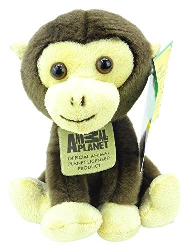 Animal Planet Jungle Cubs - Jouet en Peluche Doux chimpanzé de 16 cm