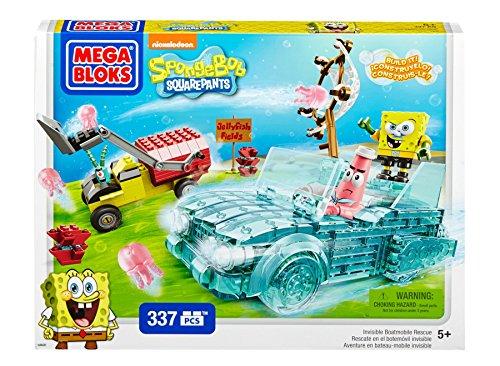 Mattel Mega Bloks CXM60 Spongebob Squarepants - Invisible Boatmobile Adventure
