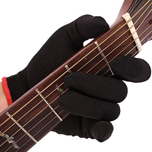 Bebliss Fingertip Handschuh für Gitarre, Bass, praktisch, für Anfänger, Musiker