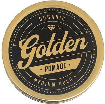 100 ml Pommade pour cheveux, Bio et naturelle à base d'huile et de cire. Brillance parfaite pour vos cheveux courts ou longs. Fixation Moyenne.
