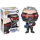 yumeng with Clock - Soldier 76 Morrison Vinyl Games Obra Maestra Anime Regalos coleccionables...