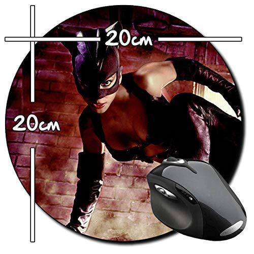 Halle Berry Catwoman Alfombrilla Redonda Round Mousepad PC