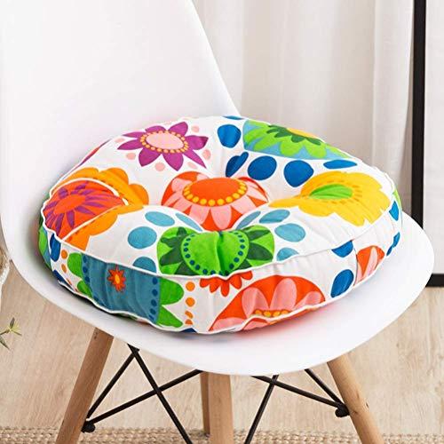 SJQ Premium sittkudde, tjockare matstolskudde, fåtöljstoppad golvkudde, kökstol/trädgårdssoffkuddar, 7 cm tjock 2–40 x 40 cm