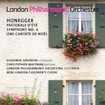 Honegger: Pastorale d'ete - Symphony No. 4 - Une cantate de Noël
