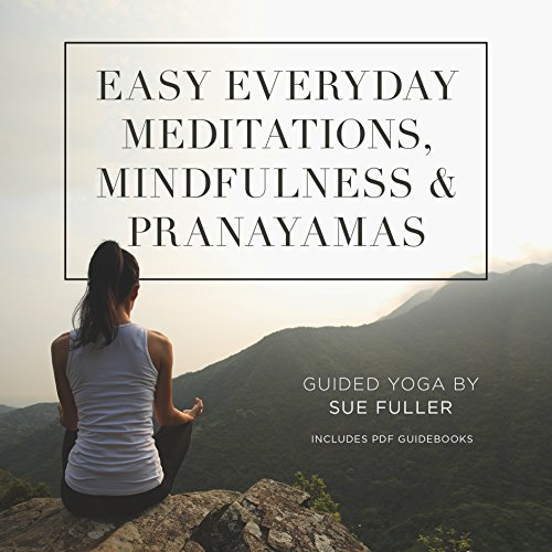 Easy Everyday Meditations, Mindfulness, and Pranayamas cover art