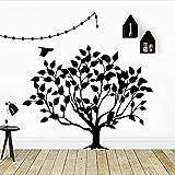 Adesivi murali decorazione della casa albero carino decalcomanie di arte adesivi personalità creativa adesivi murali camera da letto A1 42x52cm