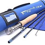 Maxcatch V-pro Fly Rod IM10 Graphite 4-Piece Fly Fishing Rod with Cordura Tube