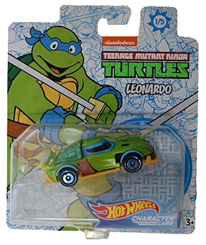 Hot Wheels Character Cars Teenage Mutant Ninja Turtles Leonardo #1 of 5 Cars