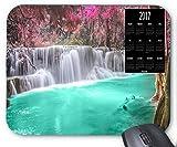 Mousepad 2017 Kalender Wald Wasserfall Landschaft Maus Matte Packung von X.