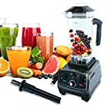 Homend 1400 Watt Commercial Blender, Professional Kitchen Juicer Blenders for Drinks and Smoothies with 67oz BPA-Free...