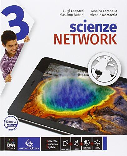 Scienze network. Ediz. curricolare. Per la Scuola media. Con DVD-ROM. Con e-book. Con espansione online: 3