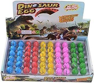 Mumoo Bear 60 PCS Magic Growing Dinosaur EggS Add Water Child Gift Hatching Inflatable toy 60 pcs as a set