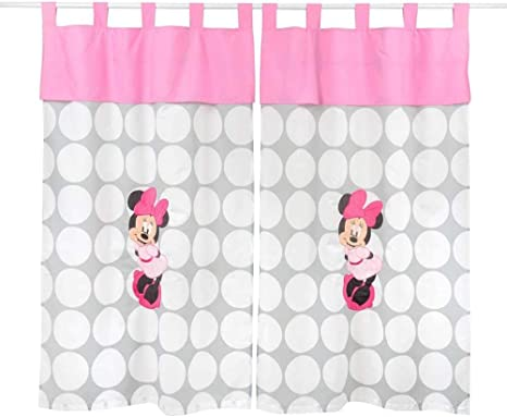 Disney Minnie Mouse Hello Gorgeous Secure-Me Crib Liner Polka dots