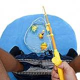 Goods & Gadgets - Set da gioco per intrattenere bimbi che siedono sul water o sul vasino: set gioco da pesca