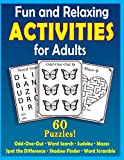 Fun and Relaxing Activities for Adults: Puzzles for People with...