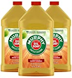 Murphy Oil Soap Concentrated Wood Cleaner, Original, 32 Oz (Pack of 3)