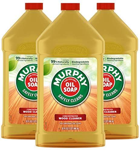 Murphy Oil Soap Concentrated Wood Cleaner, Original, 32 Oz...