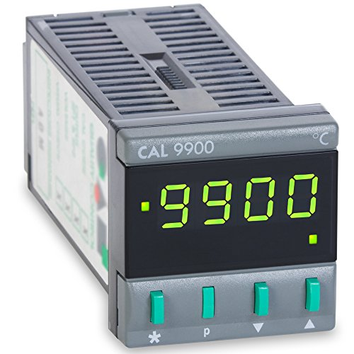 CAL Controls 99111F CAL 9900 Series 1/16 DIN Temperature Controller, 115 VAC, Two Relay Outputs, Deg F