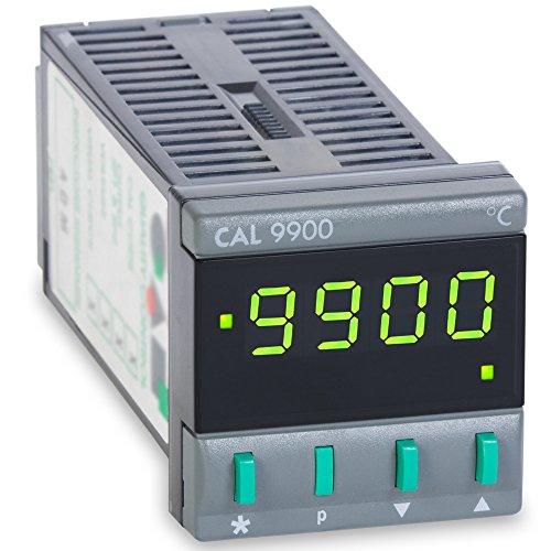CAL Controls 99211F CAL 9900 Series 1/16 DIN Temperature Controller, 115 VAC, SSR Driver and Relay Outputs, Deg F
