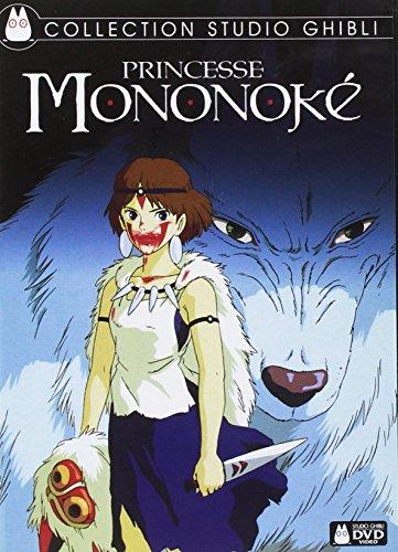 Le DVD de Princesse Mononoké dans la Collection Studio Ghibli