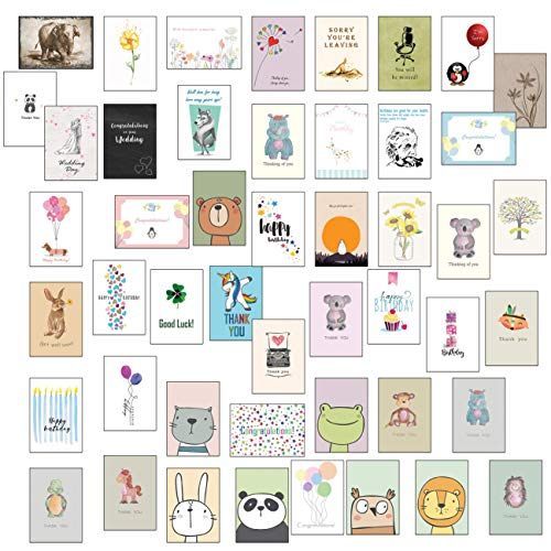 48 Mixed Greeting Cards Birthday...