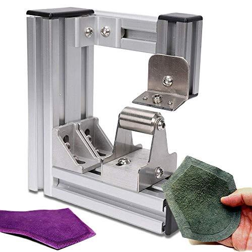 LianDu Leather Paring Machine Leather Splitter Skiver Peeler Leather Peeling Machine DIY Leathercraft Tool(US Stock)