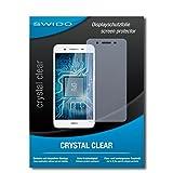 SWIDO Bildschirmschutz für Huawei GR3 [4 Stück] Kristall-Klar, Hoher Festigkeitgrad, Schutz vor Öl, Staub & Kratzer/Schutzfolie, Bildschirmschutzfolie, Panzerglas Folie