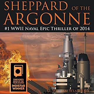 Sheppard of the Argonne audiobook cover art