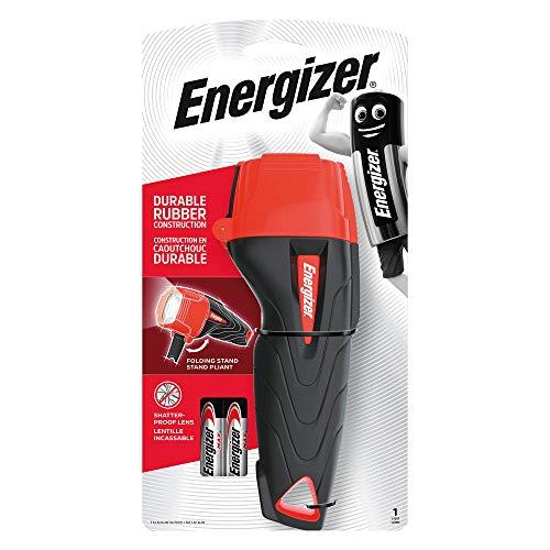 Energizer Impact - Linterna, color negro y rojo (632630)