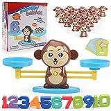 LIGGZ Balance de Juguetes para niños, Mono / Perro matemático balanza de Juguete