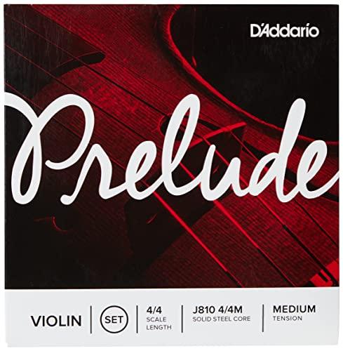 D\'Addario J810-4/4M Prelude Violinensaiten Saiten Satz