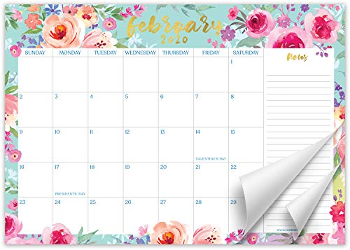 Sweetzer & Orange 2021 Calendar. 16 Month Desk Calendar 2020-April 2021 – Floral Design Monthly Planner, Daily Desk Pad Calendars for Home or Office Organization. 12 x 17 Desktop Calendar or Wall
