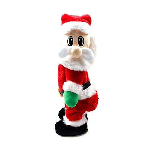 bcc3a697fd8f2 Dumonsly Twisted Wiggle Hip Twerking Christmas Santa Singing Electric Toy