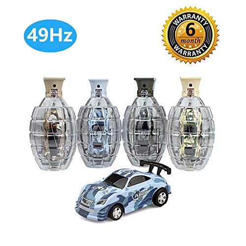 Mysj Remote Control Car,Pocket Racers Mini RC Car (49Hz)