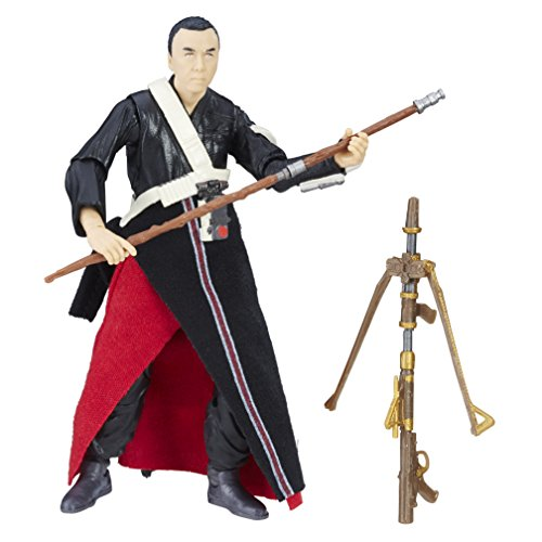 Star Wars Rogue One The Black Series Chirrut Imwe Figur.