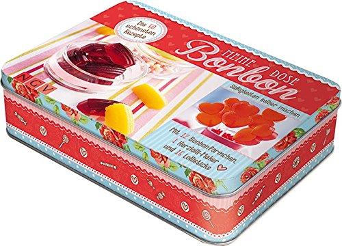 Meine Bonbon-Dose: Mit 12 Bonbonförmchen, 1 Herzlolli-Maker und 15 Lolli-Sticks
