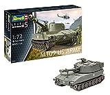 Revell-M109 US Army Maqueta Tanque de Guerra, 14+ Años, Multicolor (03265)