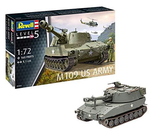 Revell-M109 US Army Maqueta Tanque de...