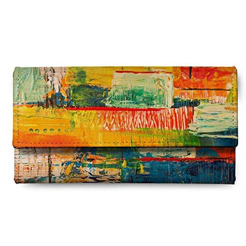 Rangeele Inkers Multicolored Canvas Women's Wallet (RILWSC000113)